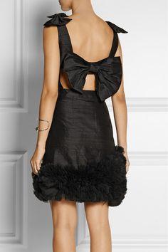 Amazing festive mini dress - the Flamboyante's choice