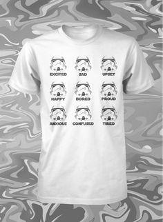 Star Wars Shirt Funny Stormtrooper Shirt Jedi Shirt Star Wars Use The Force Tee | eBay