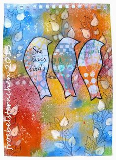 Art Journal Journey and A Colorful Gelli Print Party