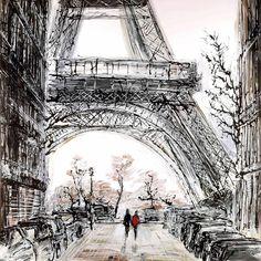 Paris In Fall by Paul Kenton - 2