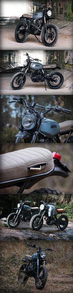 ADHOC XR600 Cafe racer / Scrambler