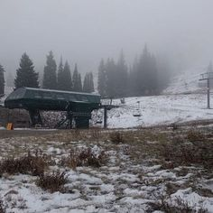 Currently at the base of Collins....#snow #winter #youcandoit #skialta #17moredays