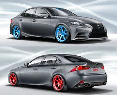 Check out the Lexus IS F-SPORT by Illest Coachworks Fatlace. They will be featuring it at SEMA this year. Lexus Cars, Bmw, Vehicles, Check, Sports, Stuff To Buy, Hs Sports, Sport, Cars