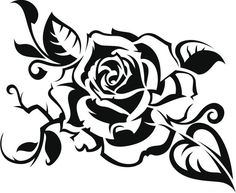 rosas para pintar pequena - Pesquisa Google