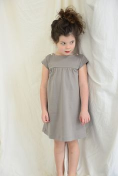 Denise Dress | Olive Juice ... Should be pretty easy to improvise a pattern for this.