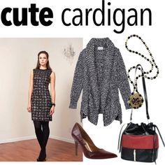 My Favorite Cardigan: Cardigans are the perfect layering trick for fall! Here is our take on a good combination complementing the cardigan.