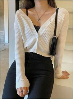 Cute Outfits With Shorts, Cute Casual Outfits, Short Outfits, Stylish Outfits, Simple Outfits, Black Outfits, Casual Chic, Casual Dresses, Black Girl Fashion