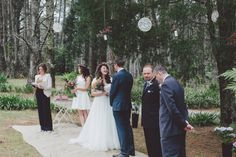Megan and Marc Blue Mountains Wedding Andrea Calodolce Ceremonies Blue Mountain, Love Story, Weddings, Mountains, Wedding Dresses, Bride Dresses, Bridal Gowns, Wedding Dressses, Wedding