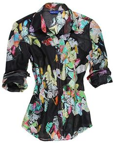 Amazon Deal of the Day: Our lovely Bettina's Butterfly blouse in XS is a steal at 20% off! #myshirtmylife #MSML #georgrothlosangeles #grla #amazon