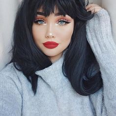 Beautiful holiday look featuring the Burgundy Palette, Snow Kyliner and Merry on the lips!  @ohmygeeee