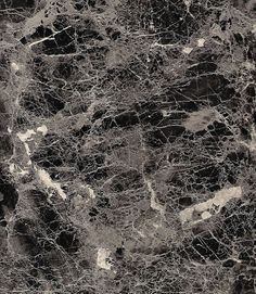 Svartgrå marmor Dekorplast Stor