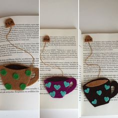 Felt,bookmark,keçe,kitap ayracı,ayraç