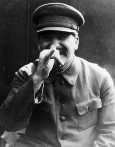 Joseph Stalin Making Hand Gest is listed (or ranked) 6 on the list 21 Infuriating Photos of History's Most Evil People Having The Best Time Ever