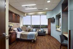 Rendering - Patient Room 2 (Baylor Medical Center at McKinney)