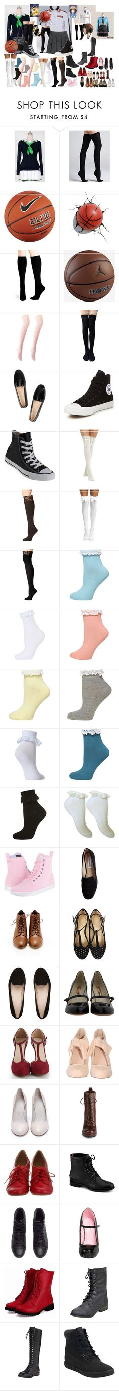 """""""Kuroko no Basket: Nisekoi Rio"""" by grandmasfood ❤ liked on Polyvore featuring COS, Commando, NIKE, Hue, Charlotte Russe, Tod's, Converse, Bootights, M&F Western and Dorothy Perkins"""