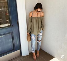 Dear Stitch Fix - love this khaki top!! Xo, Tracy