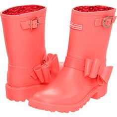 Juicy Couture Giselle Kid (Toddler/Youth) rain boots. oooh my gosh ...