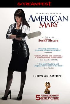 American Mary Poster, just ordered this on Blu-Ray, has a lot of great reviews.