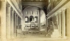 Italy Roma Church of San Lorenzo Old CDV Photo 1870