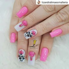 Manicure, Nails, Lady Fingers, Nail Time, Nail Designs, Nail Art, Beauty, Instagram Repost, Nail Trends