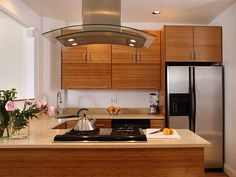 Bamboo Kitchen Cabinet