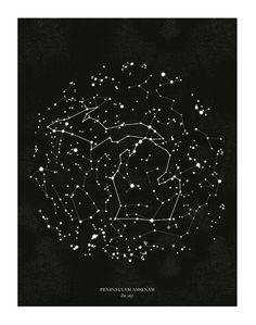 Michigan Constellation Print