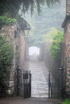 passage in Duddingston Village, Edinburgh,Scotland