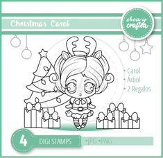 Crea y Craftea Digi Stamps, Clipart, Cardmaking, Scrapbook, Christmas, Crafts, Pink Christmas, Small Boxes, Decorated Boxes