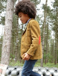 Boys blazer with elbow patches | Boden
