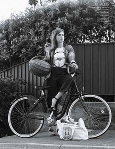 Sophie Vlaming by Sophie Van Der Perre for L'officiel Paris August 2014