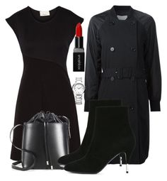 """""""Untitled #4754"""" by beatrizvilar ❤ liked on Polyvore featuring 3.1 Phillip Lim, Smashbox, Yves Saint Laurent and Baume & Mercier"""