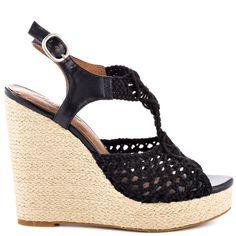 Rilo heels Blk Macrame brand heels Lucky Brand |Heels|