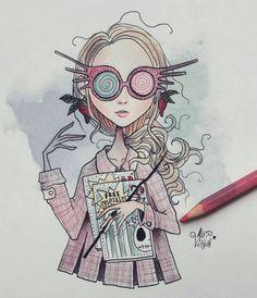 Luna, Tim Burton style