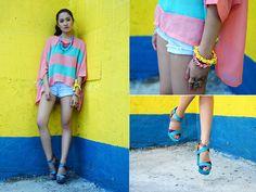 Stripes (BMS) (by Laureen Uy) http://lookbook.nu/look/3360131-Stripes-BMS <3 it