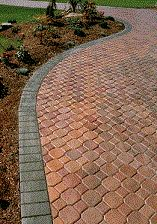 Photo Gallery - Site - Nationwide Distribution - The Concrete Network Paving Stone Patio, Paver Walkway, Brick Pavers, Paving Stones, Walkways, Driveway Design, Driveway Ideas, Patio Ideas, Outdoor Ideas