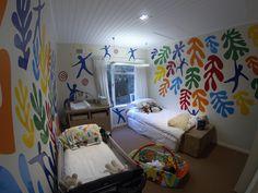 Henri Matisse inspired baby room vinyl #icut #capetown #vinyl #vinylart #henrimatisse