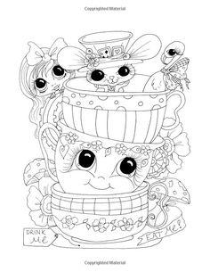 Sherri Baldy TM My-Besties TM Alice and the Looking Glass Coloring Book: Sherri Ann Baldy: AmazonSmile: Books