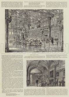 Eaton Hall. Illustration for The Graphic, 23 January 1886.