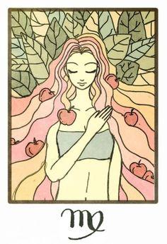 Virgo, nature's maiden
