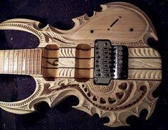 chitarra scolpita #madai
