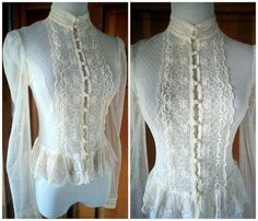 Gunne Sax Blouse from the Bridal Collection
