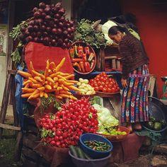 Frutos de mi tierra. Zunil, Quetzaltenango. Guatemala.