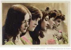 Cléo de Mérode & other vintage beauties