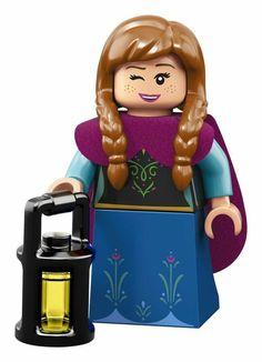 71024 Lego Minifigures la serie de Disney Anna Frozen Nº 10