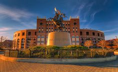 Doak Campbell Stadium and the Unconquered Statue!