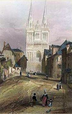 la Cathédrale en 1880