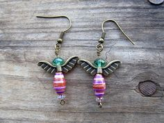 Angel Earrings by StameyCreekCreations on Etsy