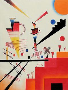 Structure Joyeuse By Wassily Kandinsky