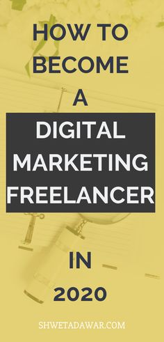 How To Become A Digital Marketing Freelancer in 2020 - Shweta Dawar Legit Online Jobs, Online Jobs From Home, Email Marketing Lists, Digital Marketing, Fast Money Online, Email Programs, Marketing Automation, Online Coaching, Make Money Blogging