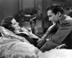 """Myrna Loy & David Manners in """"The Truth about Youth"""" (1930)"""